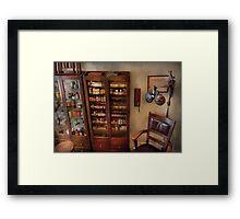 Optometrist - The Optometrists Office Framed Print