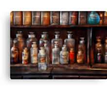 Pharmacy - The Chemistry Set Canvas Print