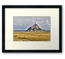 The Country Side of Mont Saint Michel  Framed Print