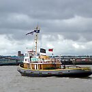 The Tugboat Brocklebank. by Lilian Marshall