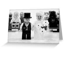Lego Wedding Greeting Card