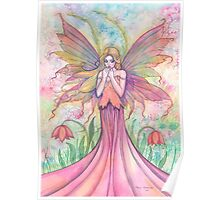 """Wildflower"" Fairy Art by Molly Harrison Poster"