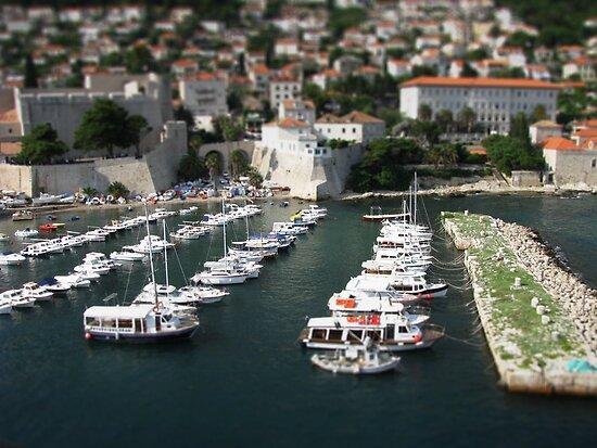 Dubrovnik Harbour by Don Alexander Lumsden (Echo7)