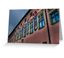 Spicy Salzburg Wall Greeting Card