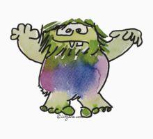 Funny Cartoon Monstar 042 by Lillyarts