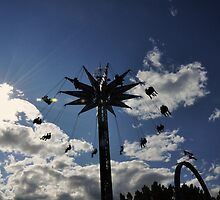 The swings at the stampede by worretphoto