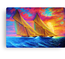 Magnificient Sea Canvas Print