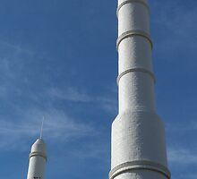 Mosque, south-west corner, City of Adelaide by Adam JL Dutkiewicz