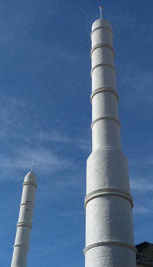 Mosque, south-west corner, City of Adelaide by Adam Jan Dutkiewicz