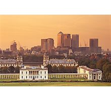 Maritime Greenwich and the Isle of Dogs Photographic Print