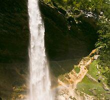 Slap Peciknik - Triglav national Park, Slovenia by Cliff Williams
