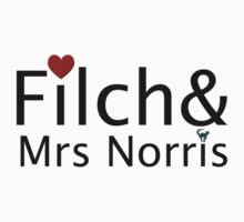 Filch and Mrs Norris by eggnog