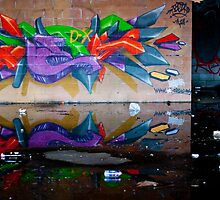 Reflected Paint by lamiel