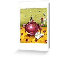 Waiting for the Tea to Draw... Greeting Card