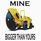 Mine is bigger than yours by Julien Menet