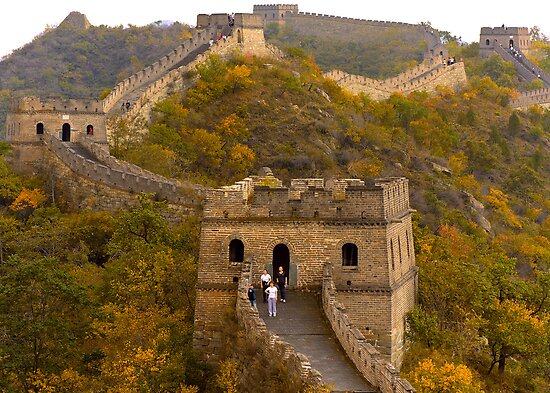 The Great Wall Series - at Mutianyu #12 by © Hany G. Jadaa © Prince John Photography
