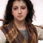 Shepherdess - Pastourelle by Bouguereau by bannercgtl10