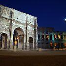 Arch of Constantine by Cat Brady