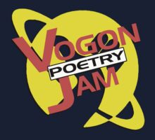 Vogon Poetry Jam (just logo) Kids Clothes
