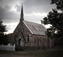 Presbyterian Church, Hill End, NSW by DashTravels