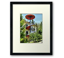 The Spiral Staircase . Framed Print
