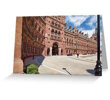 St. Pancras Station Greeting Card