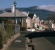 View To Mt Wellington, Battery Point—KODACHROME by Brett Rogers