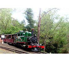 All Aboard - Puffing Billy, Vic Photographic Print