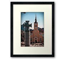 Vabadussammas, Tallinn Framed Print