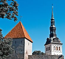 Toompea, Old Town. by tutulele