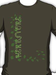 Herbivore in Green T-Shirt