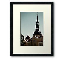 Tallinn, Toompea Framed Print