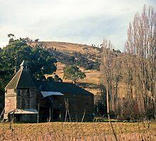 Oast House, Hayes, Tasmania—KODACHROME by Brett Rogers