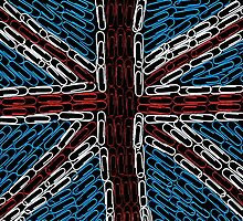 The Union Jack of Paperclips by jep983