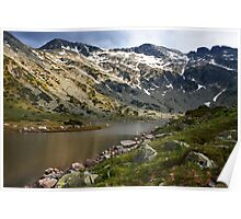 spring lights in mountain Poster