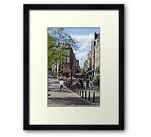 Amsterdam: Old Town Ways Framed Print