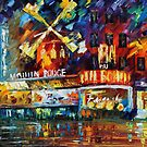 Moulin Rouge - Leonid Afremov by Leonid  Afremov