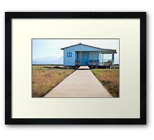 way to home Framed Print