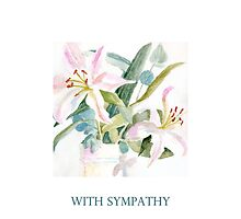 With Sympathy by Patsy Smiles