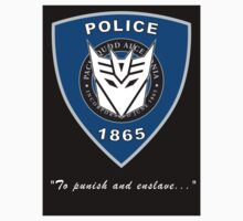 Transformers Police Sticker by Jason Fitzsimmons