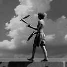 The Juggler by Michael  Herrfurth