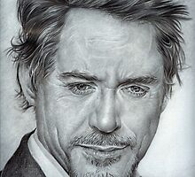 Faces-Robert Downey Jr. by paulcardenas