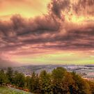 Swiss Storm Cell Panorama by Luke Griffin