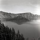 Wizard Island - Crater Lake National Park by Harry Snowden
