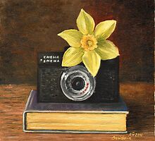 Yellow daffodil by Dasidaria Hardcastle