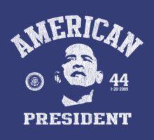 Women's American President Obama by ObamaShirt