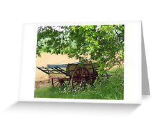 The Hay Rick, Hyde Hall, Essex Greeting Card