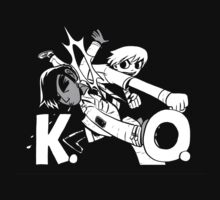 K.O. Scott Pilgrim Vs. the world Precious little life by Falconpaunch