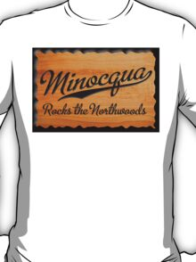 Minocqua Rocks the Northwoods T-Shirt