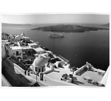 Anchored ~ Black & White  Poster
